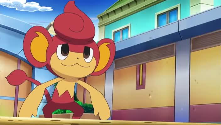 Pokemon Dublado Episódio - 720O Desejo de um Amor Fraternal!