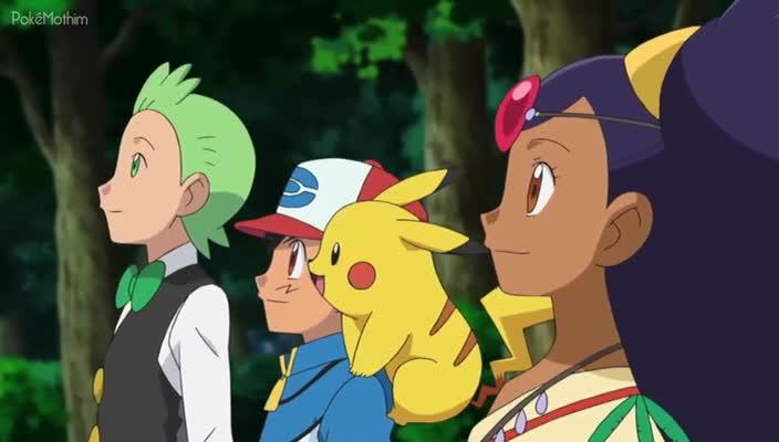 Pokemon Dublado Episódio - 722Acabando com a Fúria das Lendas! (Parte 2)