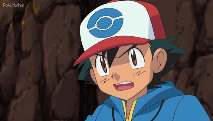 Pokemon Dublado Episódio - 723Batalhando Contra o Rei das Minas!