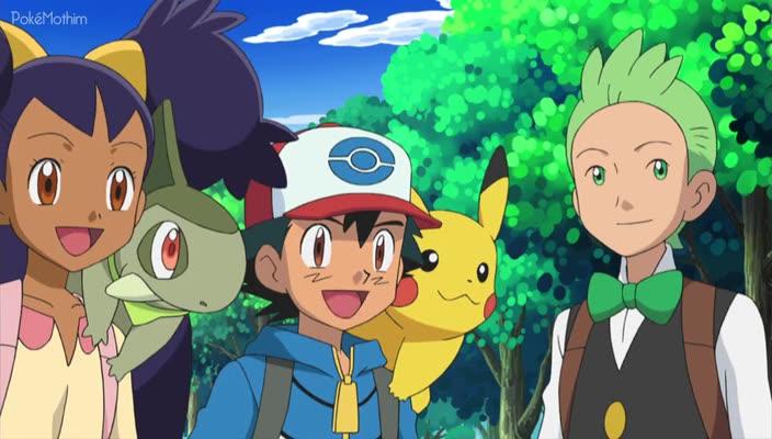 Pokemon Dublado Episódio - 724Crise na Caverna da Rocha Elétrica!