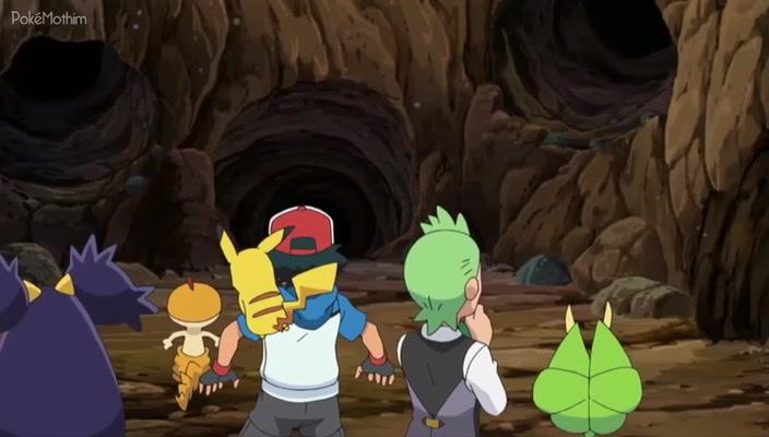 Pokemon Dublado Episódio - 736Na Batalha Contra os Devoradores de Folhas!