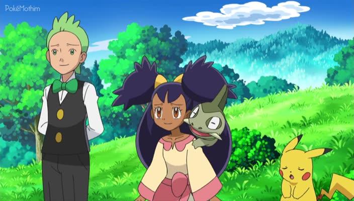 Pokemon Dublado Episódio - 740Protegendo o Guardião da Montanha!