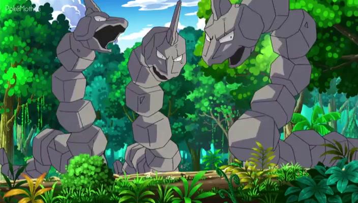 Pokemon Dublado Episódio - 749Expedição na Ilha Onix!