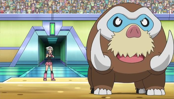 Pokemon Dublado Episódio - 753Concedida a Permissão Para a Batalha!
