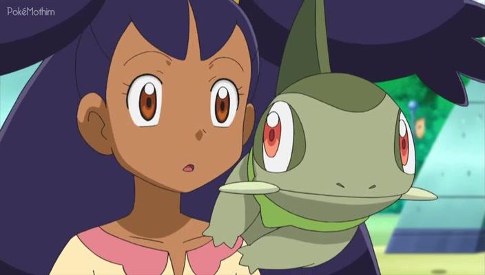 Pokemon Dublado Episódio - 754Ash, Iris e Trip, o Lugar dos Três é Aqui!