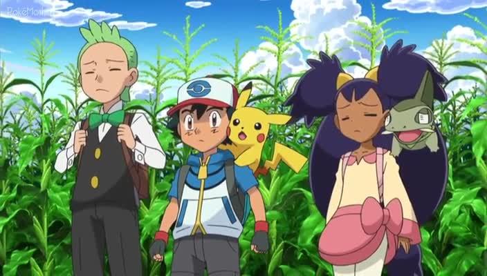 Pokemon Dublado Episódio - 761Batalhas de Duplas Entre o Céu e a Terra!