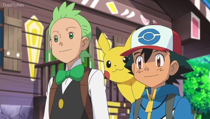 Pokemon Dublado Episódio - 762Regressando Para a Vila dos Dragões!