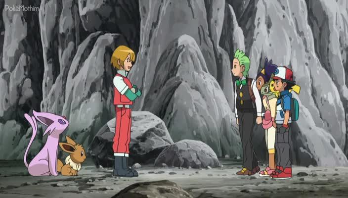 Pokemon Dublado Episódio - 764Equipe Eevee e o Esquadrão de Resgate Pokémon!