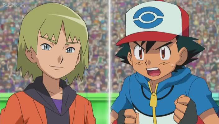 Pokemon Dublado Episódio - 766Missão: Derrote o Seu Rival!