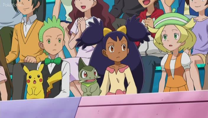Pokemon Dublado Episódio - 768Estratégia Forte Rouba o Show!