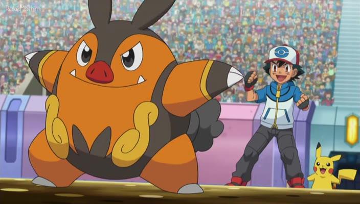 Pokemon Dublado Episódio - 769A Arma Secreta de Cameron!