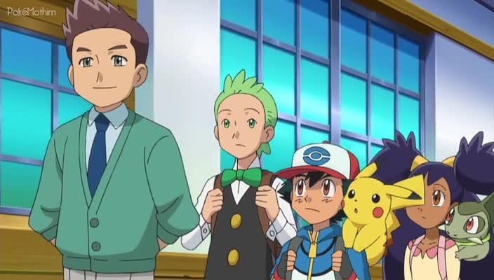 Pokemon Dublado Episódio - 773Um Novo Líder de Ginásio na Cidade!