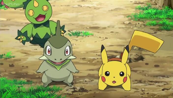 Pokemon Dublado Episódio - 774O Grande Plano Pokémon da Equipe Plasma!