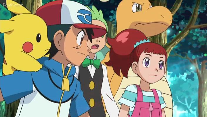 Pokemon Dublado Episódio - 775A Luz no Rancho Floccesy!