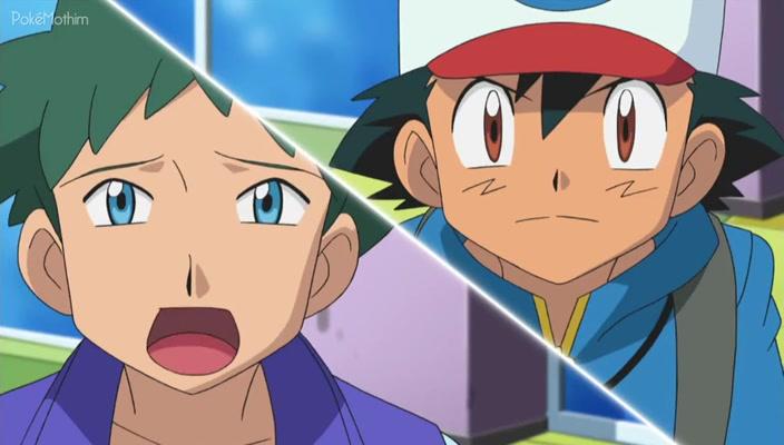 Pokemon Dublado Episódio - 779Manipulação Pokémon da Equipe Plasma!