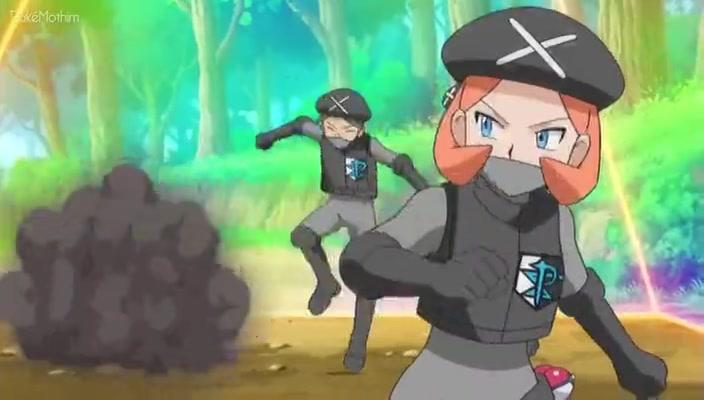 Pokemon Dublado Episódio - 781Meowth, Colress, e a Equipe Rivalidade!