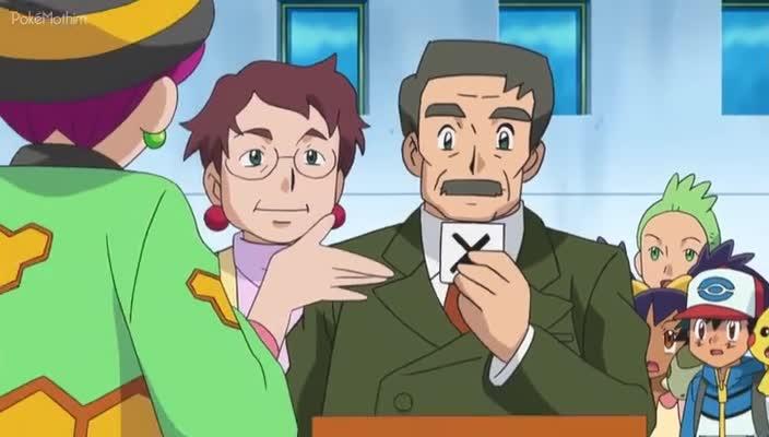Pokemon Dublado Episódio - 786Perigo, Doce Como o Mel!