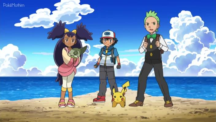 Pokemon Dublado Episódio - 789A Ilha das Ilusões!