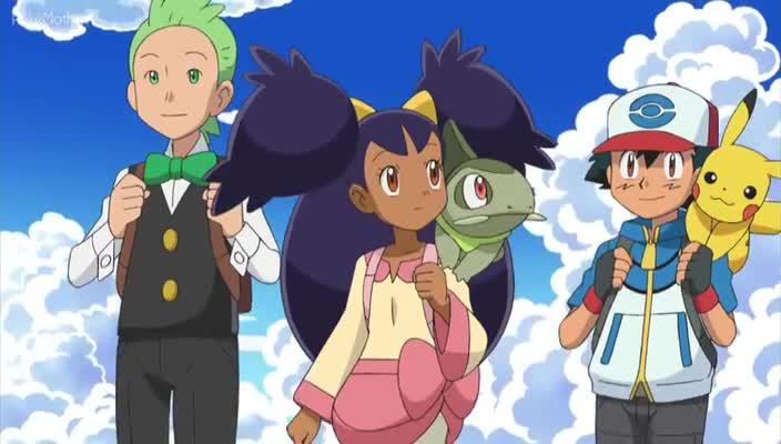 Pokemon Dublado Episódio - 793O Caminho que Leva ao Adeus!