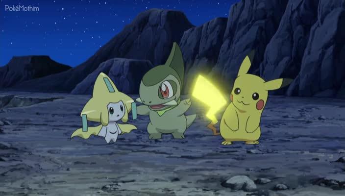 Pokemon Dublado Episódio - 794Em Busca de um Desejo!