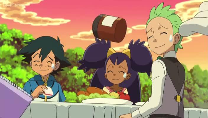 Pokemon Dublado Episódio - 799Celebrando o Cometa Herói!