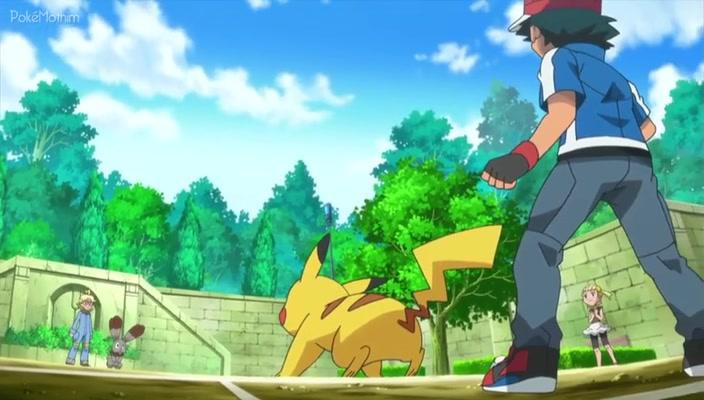 Pokemon Dublado Episódio - 805Kalos, Onde Sonhos e Aventuras Começam!