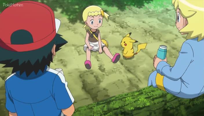 Pokemon Dublado Episódio - 808Uma Amizade Chocantemente Fofa!