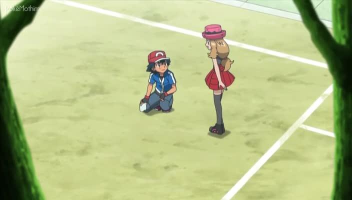 Pokemon Dublado Episódio - 810Batalhando em Gelo Fino!