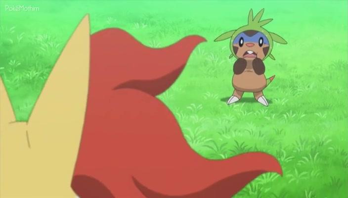Pokemon Dublado Episódio - 819Fome de Batalha!