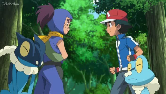 Pokemon Dublado Episódio - 821Um Surto de Sabedoria Ninja!