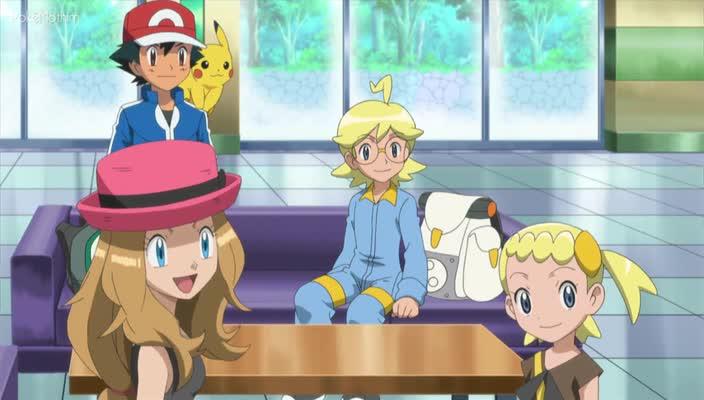 Pokemon Dublado Episódio - 824Batalhando Por Títulos no Castelo!