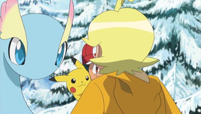 Pokemon Dublado Episódio - 827De Volta Para o Frio!