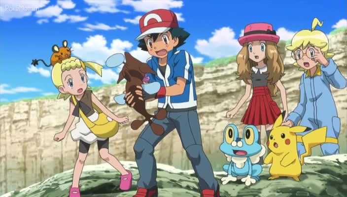 Pokemon Dublado Episódio - 828Um Lugar Subaquático Pra Chamar de Lar!