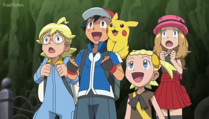 Pokemon Dublado Episódio - 829Escalando as Paredes!