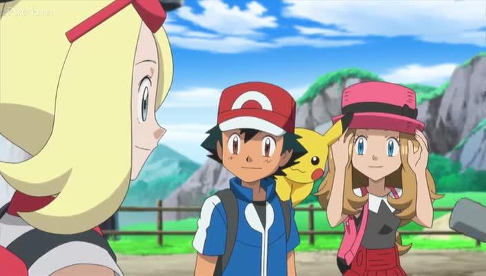 Pokemon Dublado Episódio - 836Uma Aura Furiosa!