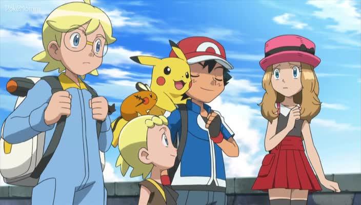Pokemon Dublado Episódio - 847Origens da Mega Evolução!