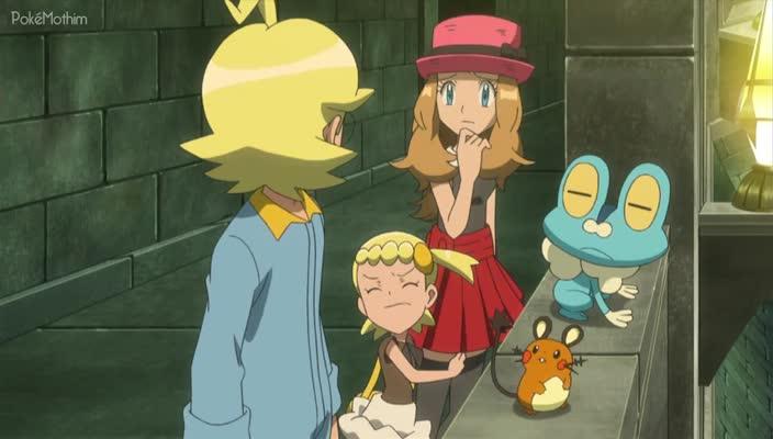 Pokemon Dublado Episódio - 848Confronto no Ginásio de Shalour!