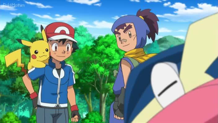 Pokemon Dublado Episódio - 856Um Desafio Furtivo!