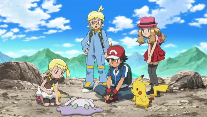 Pokemon Dublado Episódio - 859Um Encontro Escorregadio!