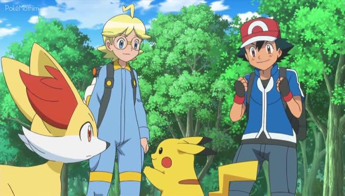 Pokemon Dublado Episódio - 860Ponto Para o Goomy!