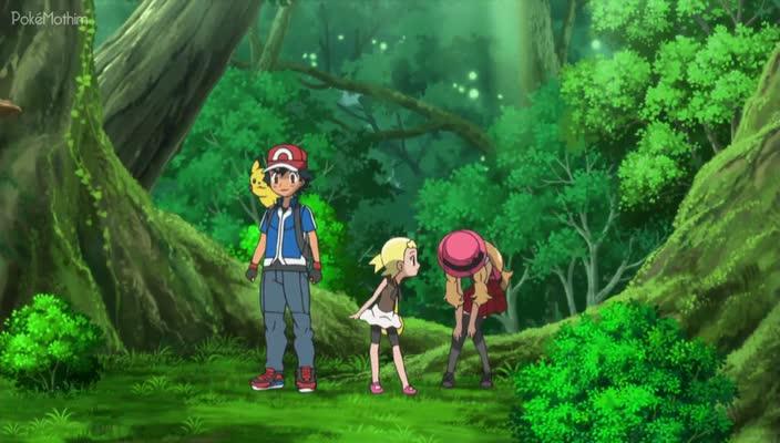 Pokemon Dublado Episódio - 862Os Tipos Planta Verdes de Casa!