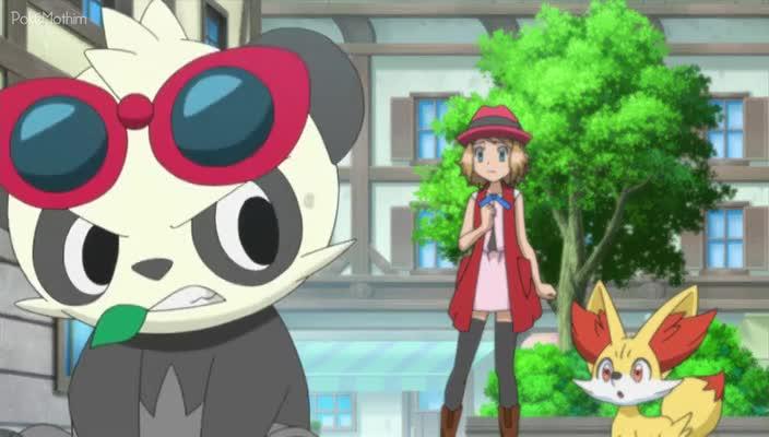 Pokemon Dublado Episódio - 868Batalhando Com Elegância e um Grande Sorriso!