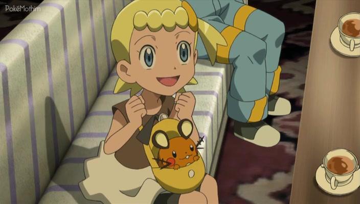 Pokemon Dublado Episódio - 876Hospitalidade Assombrada!