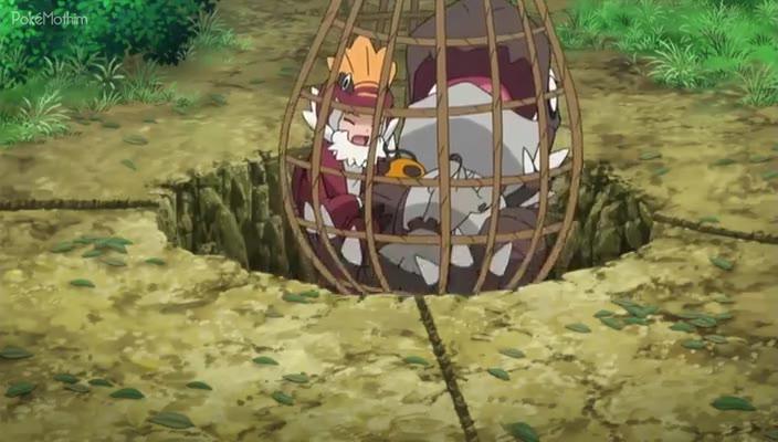Pokemon Dublado Episódio - 891A Pequena Cuidadora!