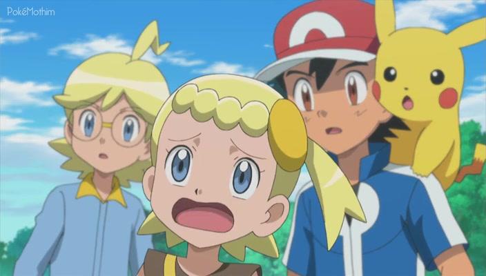 Pokemon Dublado Episódio - 893Um Achado Surpreendente Nas Flores!