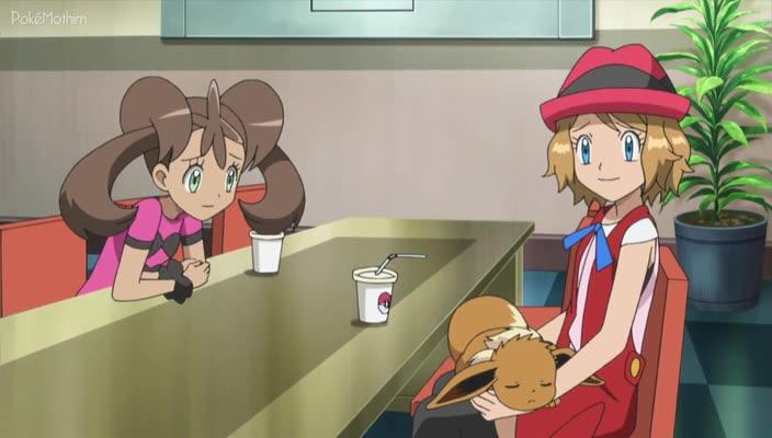 Pokemon Dublado Episódio - 894Inspiração de Batalha de Dupla!
