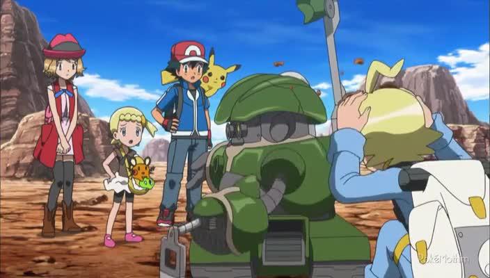 Pokemon Dublado Episódio - 912Precisando de Água!