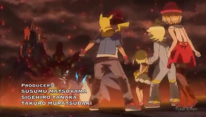 Pokemon Dublado Episódio - 916Classe Mestra Reunida!