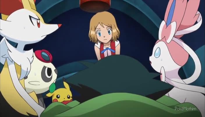 Pokemon Dublado Episódio - 919Batalhando no Volume Máximo!