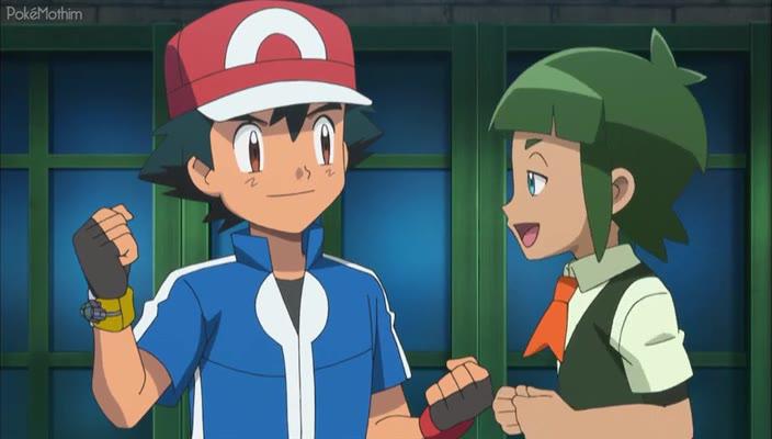 Pokemon Dublado Episódio - 923Batalha Surpresa Com Força Total!